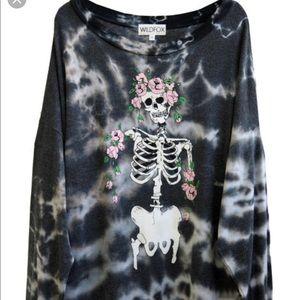 Wildfox Louisiana roadtrip sweater dress MEDIUM